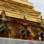 Le Wat Phra Kaew a l'heure sino-thai