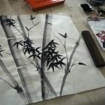 Peinture traditionnelle chinoise : j'aurais voulu être un artiste