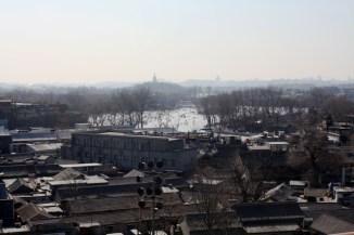 Les hutongs vus de la tour du Tambour