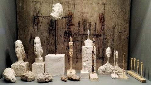 Reconstitution de l'atelier de l'artiste à Paris