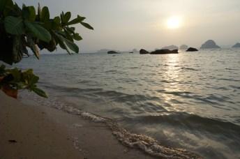Plage de Tupkaek, province de Krabi