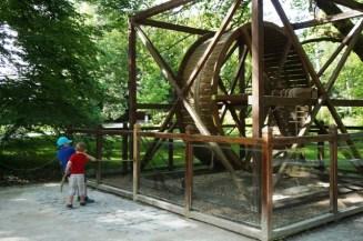 Reproduction d'une machine de L. de Vinci