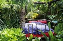 Dormir dans un jardin...