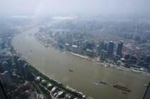 Vue sur le Huangpu