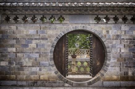 Porte de la maison Zhang