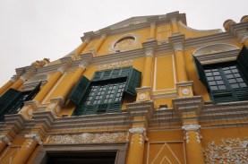 Façade de l'église Sao Domingos