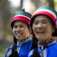 Groupe de danseuses Sani à Shilin