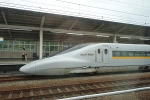 Un shinkasen, le TGV japonais