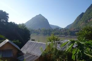 La vue de notre terrasse