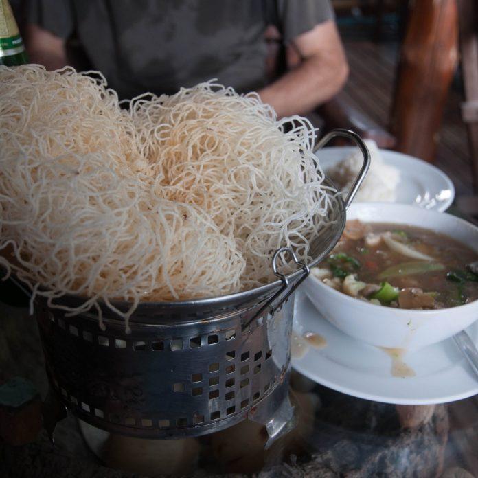 Strange noodles