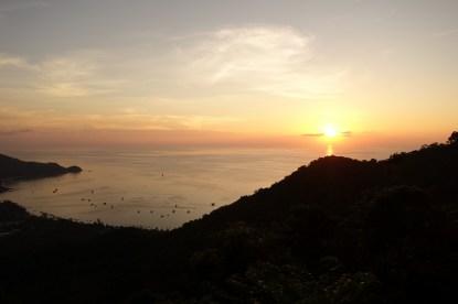 Bataille de coucher de soleil