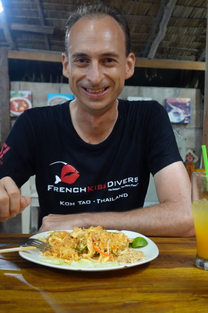 Enormes pad thai