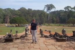 On the elephant terrace