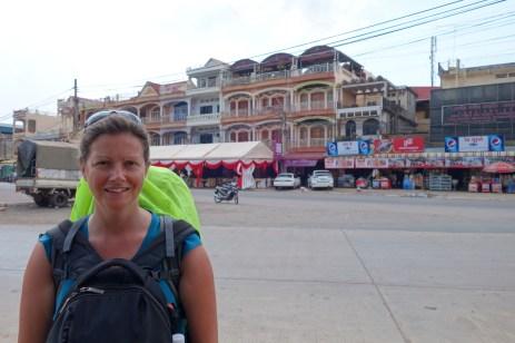 Arrival in Kampot