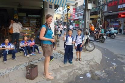 My friends the school children!
