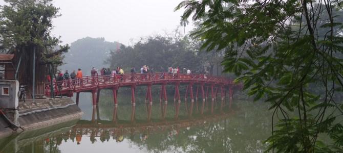 Hanoï, premières sensations – first glimpse of Hanoi