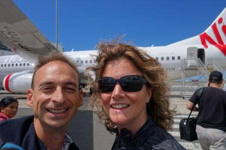 En route pour Cairns ! Let's go to Cairns