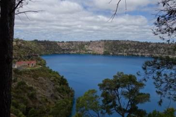 Lac bleu de Mont Gambier - Blue lake in Mount Gambier