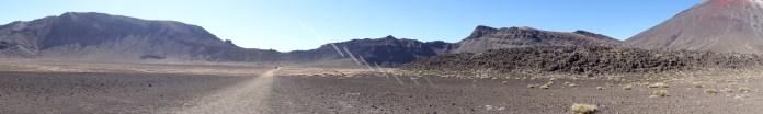 Dans le cratère - In the crater