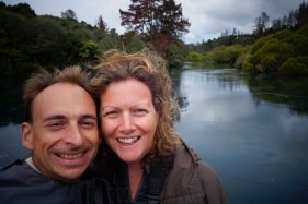 Sur le fleuve Waikato - On the Waikato river
