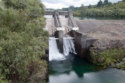 Barrage de Huka - Huka dam