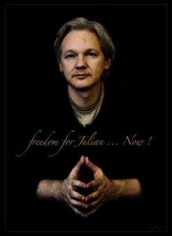 Julian Assange et la loi de la relativité générale — Viktor DEDAJ