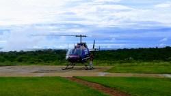 Helikopter, Afrika, Zambézi