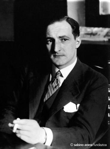 1937 - Retrato de medio cuerpo del lehendakari José Antonio Agirre Lekube.