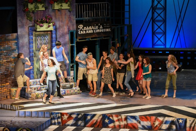"""Ensemble players from """"In The Heights"""" presented by LHS drama department."""