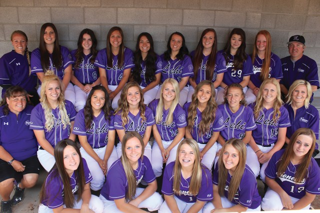 Lehi High School 2015–16 softball team.