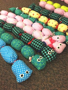 Weighted caterpillars are comforting for children with autism.