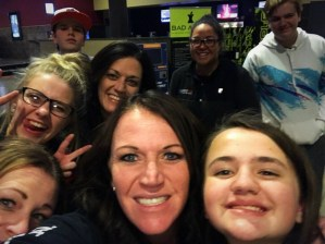 Kristi Flygare with friends and family for the sixth time seeing The Greatest Showman.