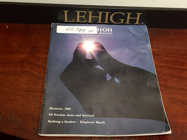 Lehigh Bulletin 1982 (Vol. 69, Number 4)