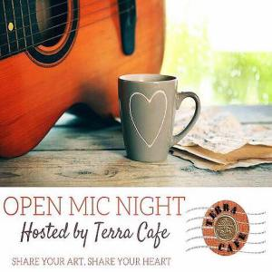Open Mic Night at Terra Cafe, Easton