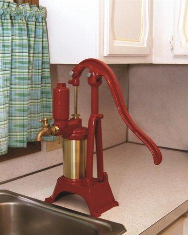 pressurized sealed top water pump