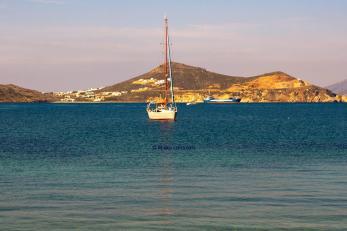 afternoon sun at naxos