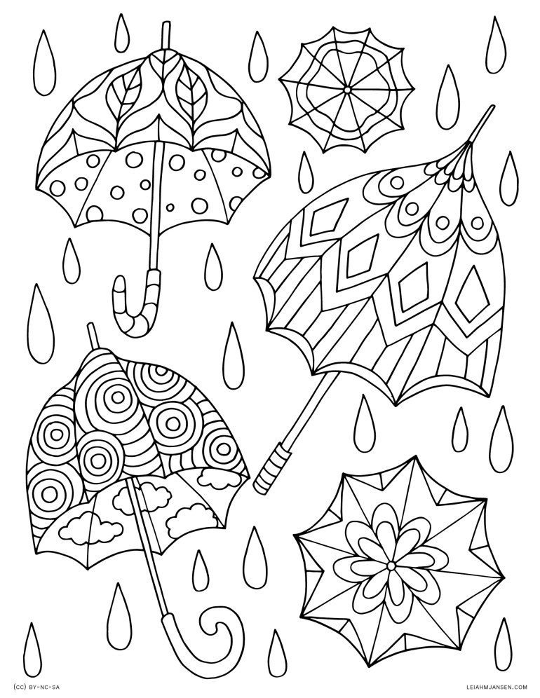 Coloring Pages | free printable spring coloring pages for adults