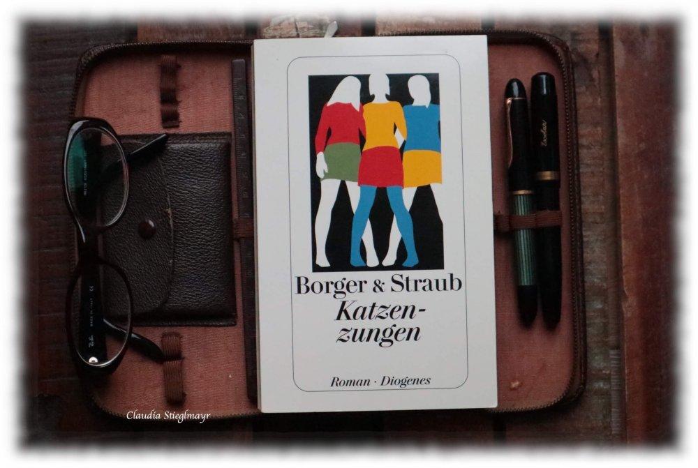 Beitragsbild für die Rezension zu »Katzenzungen« von Borger & Straub