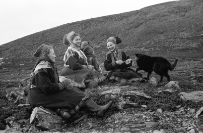 A group of women in Swedish Lapland