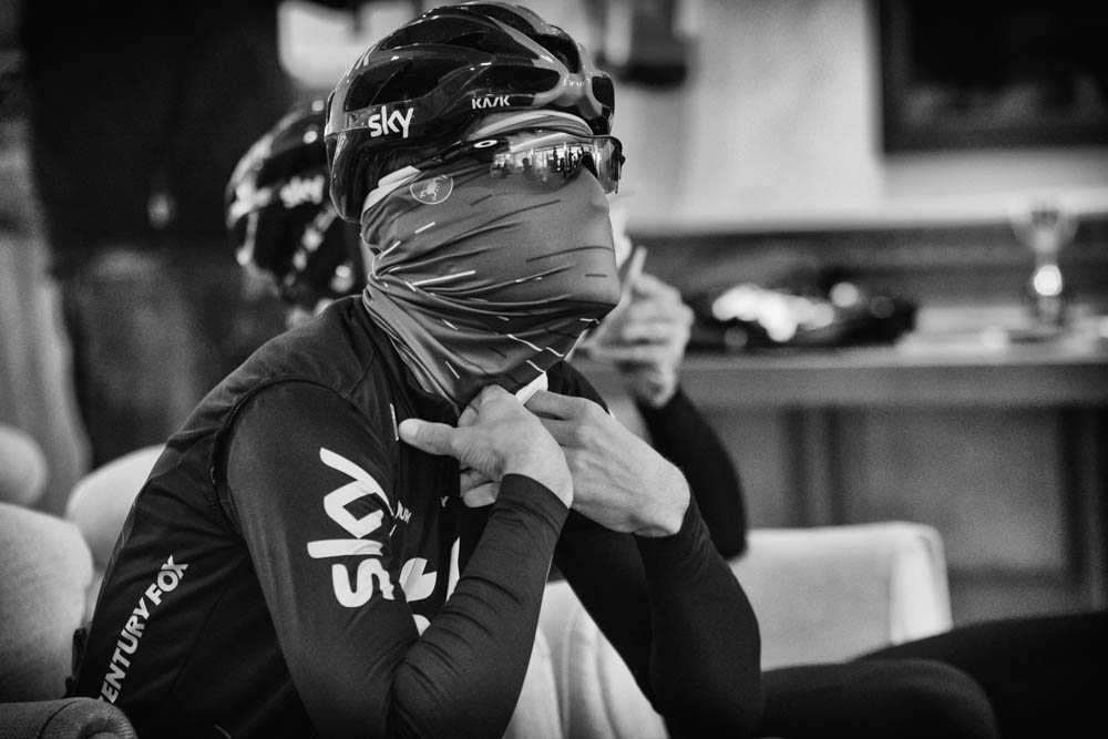 Train, eat, sleep, and repeat: Inside a cyclist's day - The