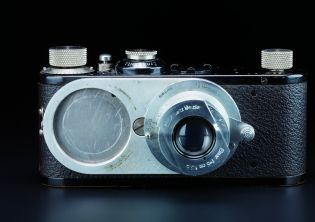 Leica I with lens revolver, prototype, approx. 1930