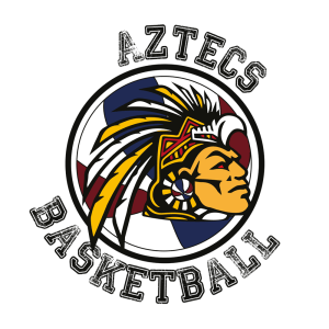 Ashby Aztecs Basketball Logo