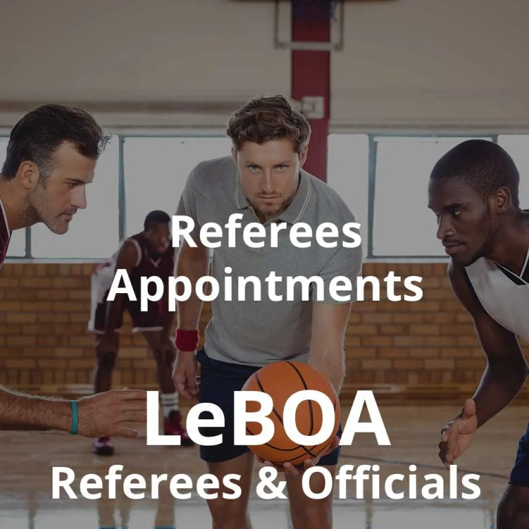 LeBOA Referees Appointments