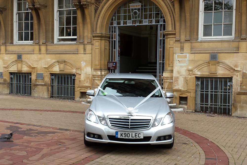 Mercedes E Class Wedding Car