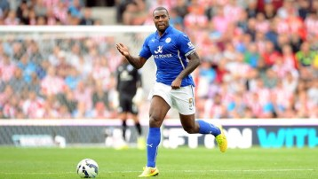 PICTURE ALEX HANNAM - Stoke City v Leicester City - Wes Morgan  - STORY