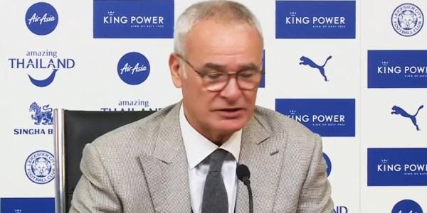 Ranieri pays respect to Chapecoense