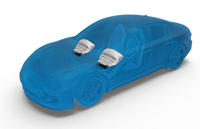 Leichter Knieairbag für Autos