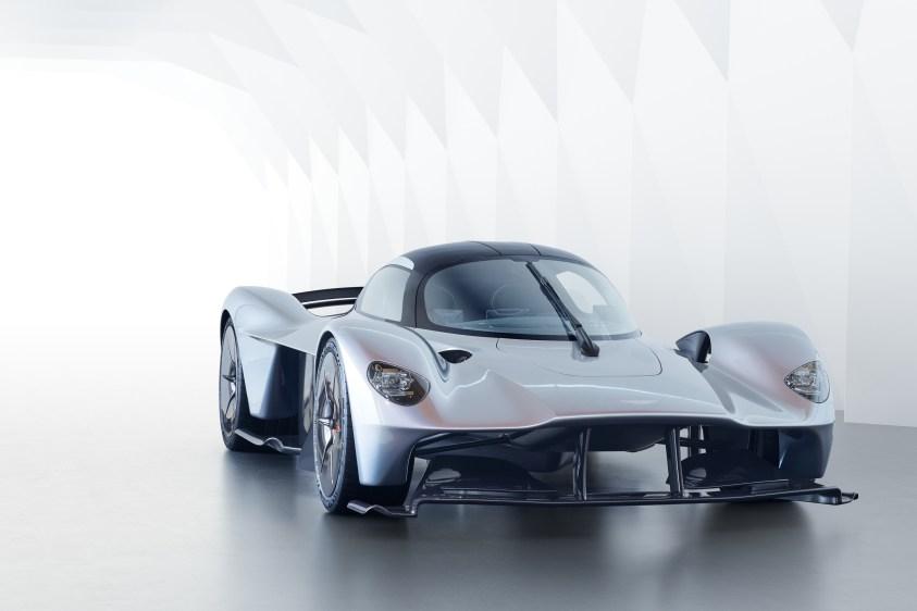 Der Aston Martin Valkyrie ist um eine leichte Kohlefaserstruktur herum gebaut. (Quelle: Aston Martin)