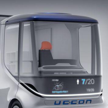 """Im Vergleich zu einem gängigen Kleintransporter hat der """"Uccon"""" bei gleicher Länge gut 30 Prozent mehr Laderaum und Nutzlast. (Quelle: Teamobility)"""