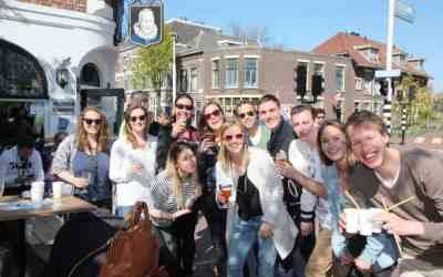 Bierwandeling en bierproeverij in Leiden